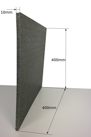 Block EPP 400/400/10 60g/l grey
