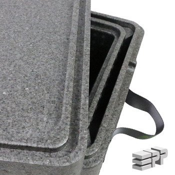 Box 2 in 1 thermal insulation container  455/355/261