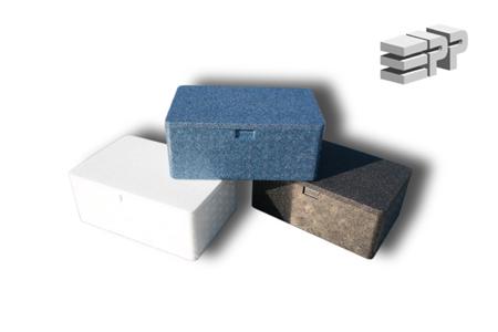 Box / First aid kit - blue
