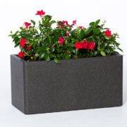 Flower pot IQBANA RECTANGLE 620 Grey
