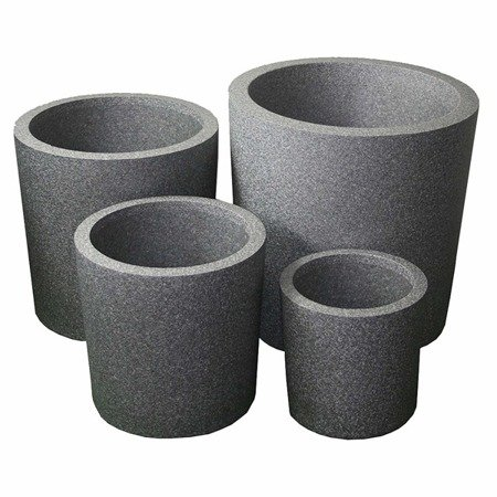 Flower pot IQBANA ROUND 480 Grey