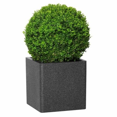 Flower pot IQBANA SQUARE 320 black
