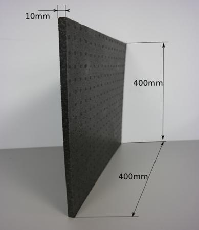 Block EPP 400/400/10 150g/l schwarz