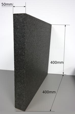 Block EPP 400/400/50 80g/l schwarz