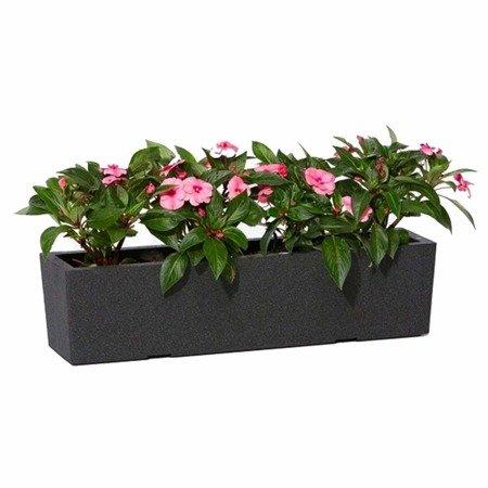 Blumentopf IQBANA LUZERN 390 Grau
