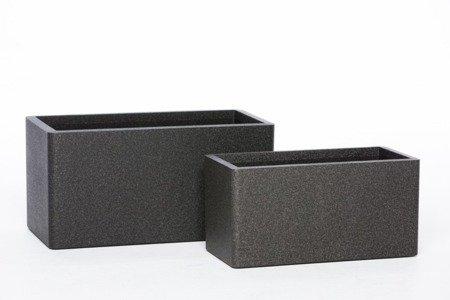 Donica IQBANA  RECTANGLE 760 czarna