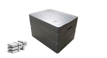 Pojemnik termoizolacyjny 2 w 1 - 390/340/246